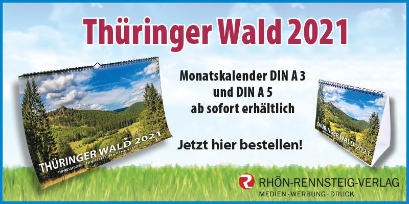 Kalender Thürimnger Wald 2021