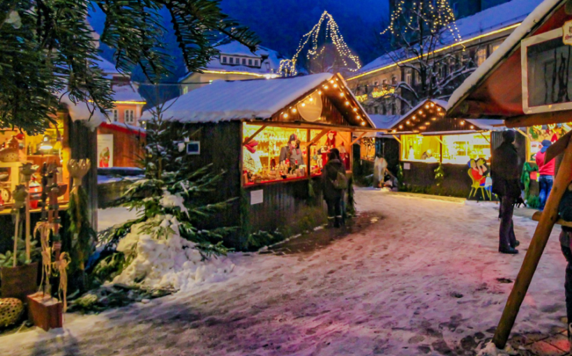 Suhl Weihnachtsmarkt.Waren Aus Budweis Auf Dem Suhler Weihnachtsmarkt Neue Henneberger