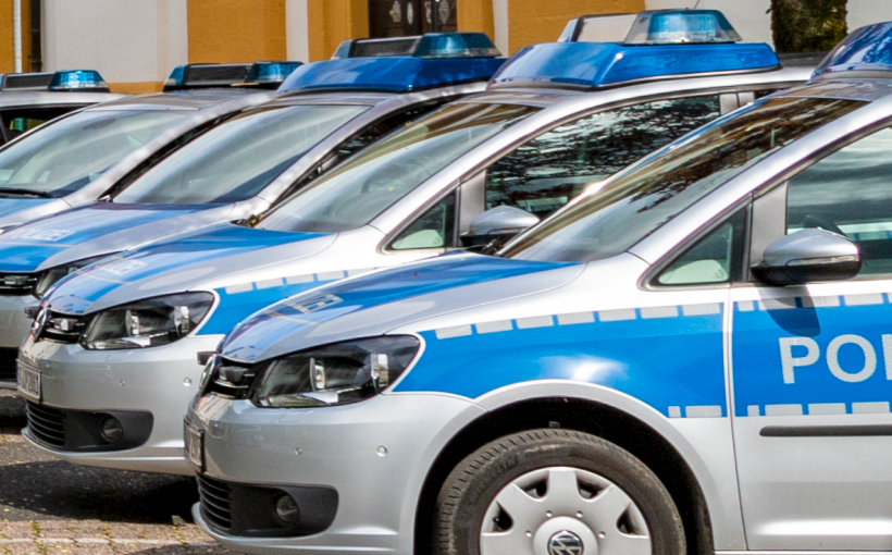 Polizeiautos Blaulicht