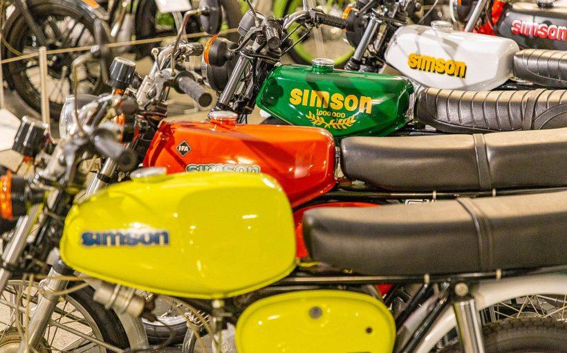 Simson Mokick S51 S50 Fahrzeugmuseum Suhl