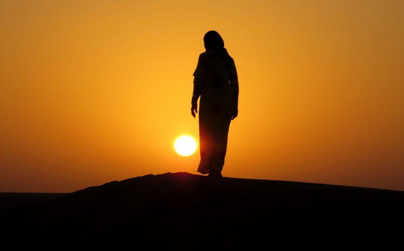 004 Sonnenuntergänge vom feinsten sind im Oman keine Seltenheit - Kopie