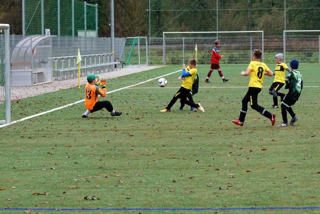 D-Junioren PPSV Suhl zu Gast in der Menz Arena bei den Sportfreunden der SG FC Steinbach-Hallenberg 2
