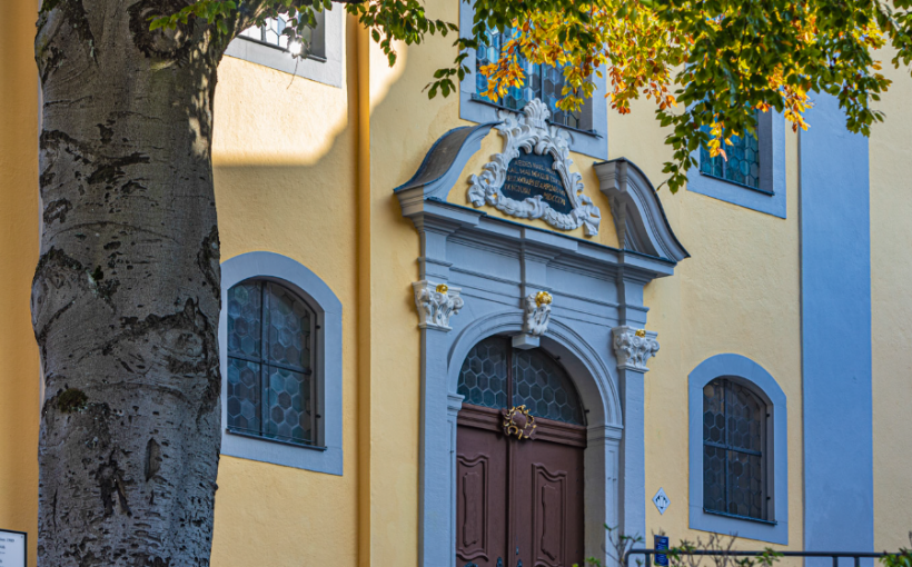 Hauptkirche Sankt Marien Suhl Portal