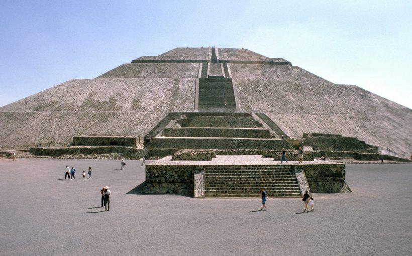 Mexiko Tempel Pyramide