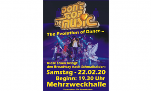 "Tanzshow ""Don't Stop The Music"" @ Mehrzweckhalle Schmalkalden"