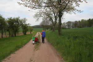 Pilgern Via Regia in Familie Tilo Bössel