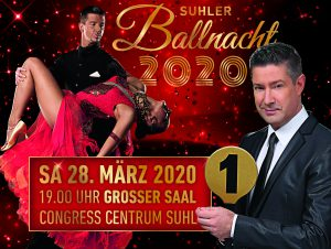 2. Suhler Ballnacht mit Joachim Llambi @ Congress Centrum Suhl