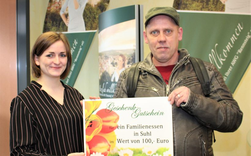 Dirk Müller-Sauermann und Julia Holtmann AWG