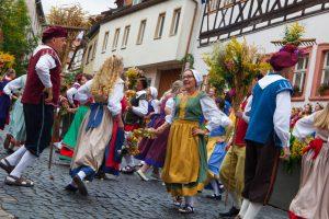 """Historisches Volksschauspiel """"Die Schutzfrau von Münnerstadt"""" @ Münnerstadt"""