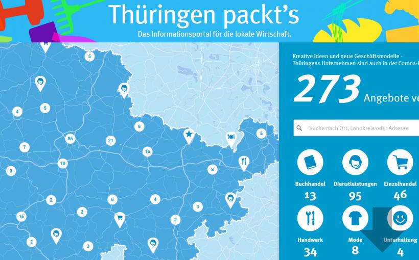 Thüringen Packts Seite