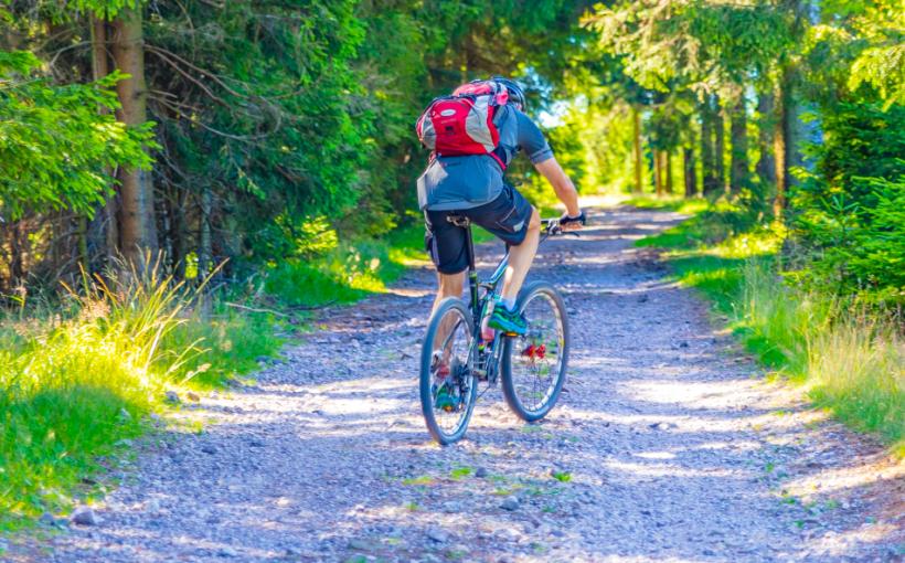 Radfahrer Rennsteig ThDreger